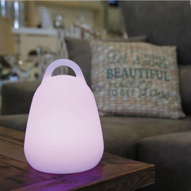 Lampada da tavolo LIBERTY C25 H26.5cm, in plastica, LED integrato IP44