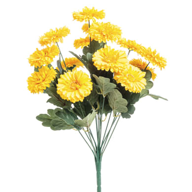 Fiore artificiale artificiale di Gerbere H 50 cm