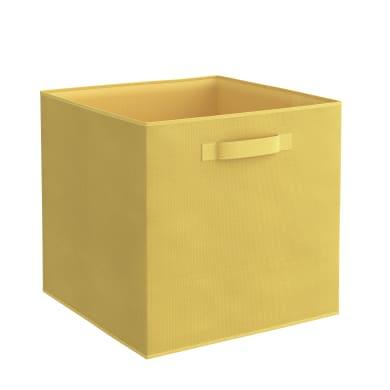 Cesta Kub L 31 x P 31 x H 31 cm giallo