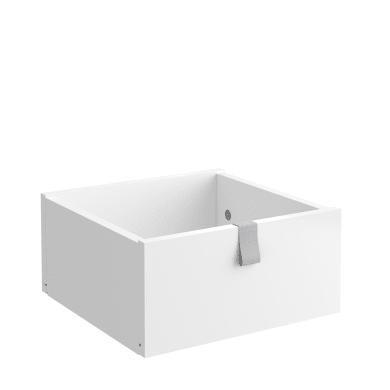 Cassetto per modulo SPACEO Kub L 32.4 x H 15 x P 31.6 cm bianco