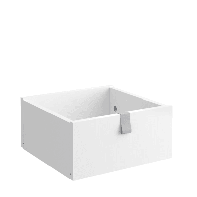 Cassetto SPACEO Kub L 32.4 x H 15 x P 31.6 cm bianco