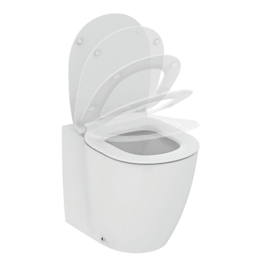 Vaso wc a pavimento filo muro ideal smart acquablade IDEAL STANDARD