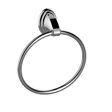 Porta salviette ad anello argento