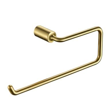 Porta salviette ad anello cromo lucido L 34.7 cm