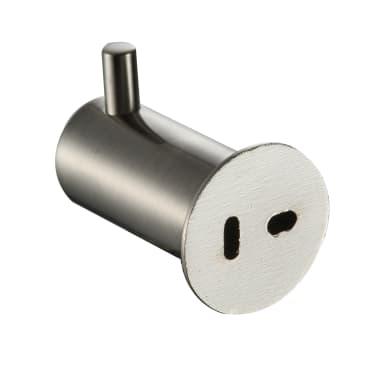 Gancio cromo spazzolato in zinco