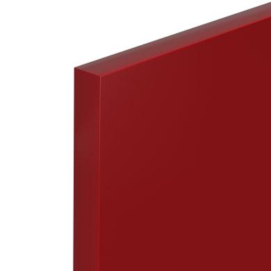 Porta dell'armadio da cucina DELINIA ID 59.7 x 76.5 rosso