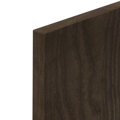 Porta dell'armadio da cucina DELINIA ID Siena 59.7 x 76.5 x 76.5 cm rovere moro