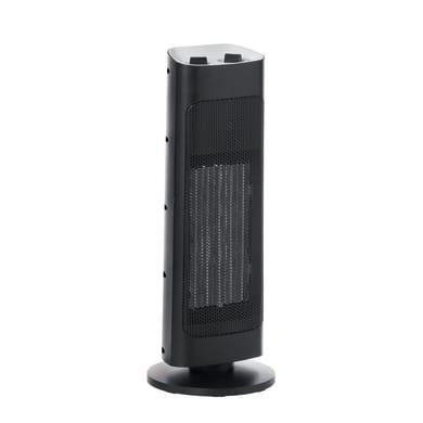 Termoventilatore elettrico EQUATION nero 2000 W
