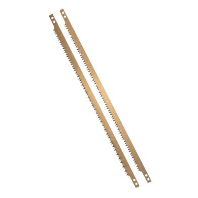 Lama per sega ad arco GEOLIA per legno secco, in acciaio 530 mm 2 pezzi