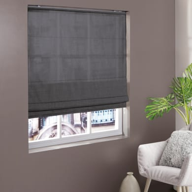 Tenda a pacchetto INSPIRE Chambray grigio 100x250 cm