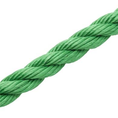 Corda ritorta in polipropilene STANDERS L 7.5 m verde