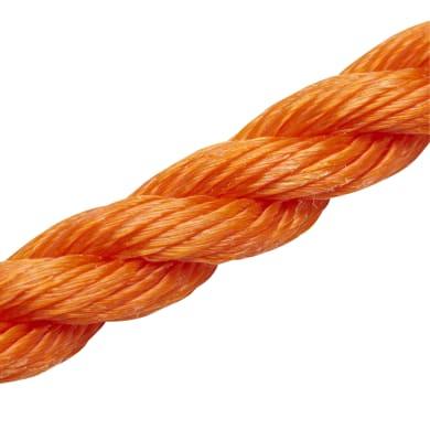 Corda ritorta in polipropilene STANDERS L 10 m arancio / ramato