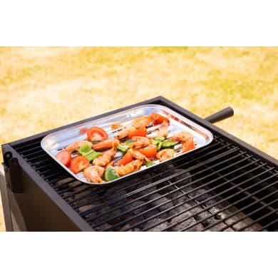 Vassoio per accessoriare il barbecue NATERIAL