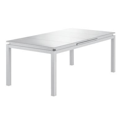 Tavoli Da Giardino In Alluminio Pieghevoli.Tavoli Da Giardino Resina Allungabili