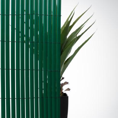 Canniccio doppia vista pvc verde L 3 x H 1 m