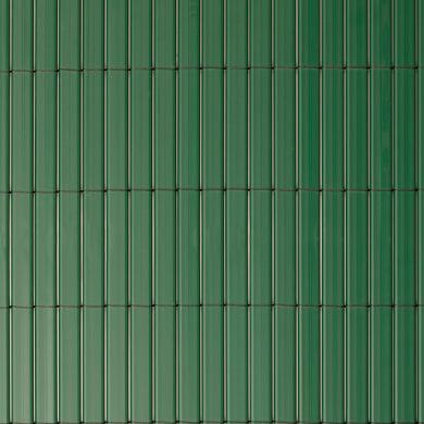 Canniccio doppia vista pvc NATERIAL verde L 5 x H 2 m