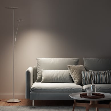 Lampada da terra Nenufar , in metallo, H180cm, LED integrato INSPIRE