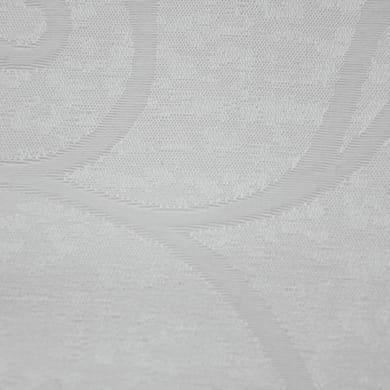Tessuto Folgore foglie ramage bianco 330 cm