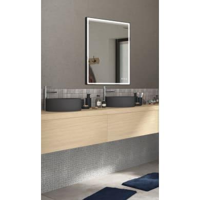 Specchio con illuminazione integrata bagno rettangolare Neo L 120 x H 90 cm SENSEA