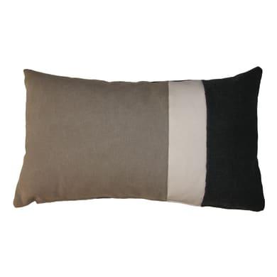 Cuscino Patch grigio 30x50 cm