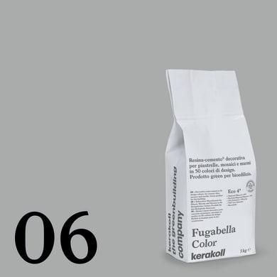 Stucco in polvere FUGABELLA COLOR KERAKOLL 3 kg grigio chiaro