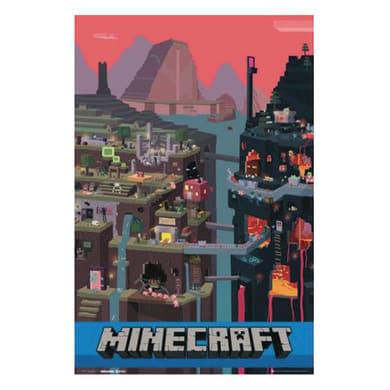 Poster Minecraft World 61x91.5 cm