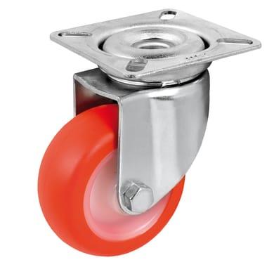 Ruote in poliuretano rosso Ø 50 cm  Ruote in poliuretano rosso Ø 50 cm