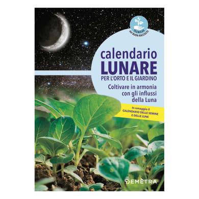 Libro Calendario lunare per orto e giardino Demetra