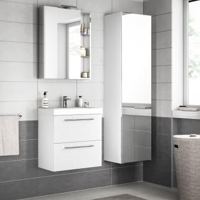 Mobile bagno Remix bianco L 60 cm