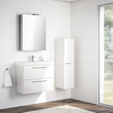 Mobile bagno Remix bianco L 75 cm