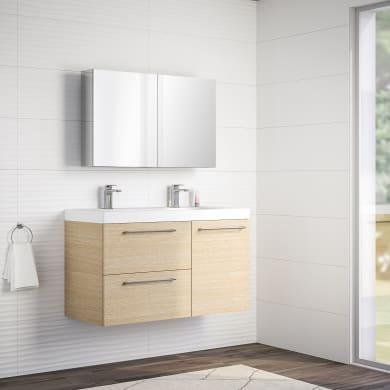 Mobile bagno Remix rovere chiaro L 106 cm