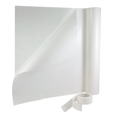 Nastro bi-adesivo 25 m x 75 mm trasparente