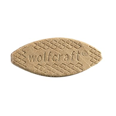 Piastrine WOLFCRAFT in legno 19  x 55 mm