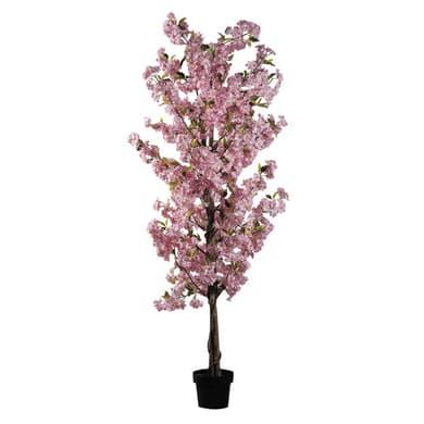 Pianta artificiale Ciliegio rosa in vaso H 200 cm
