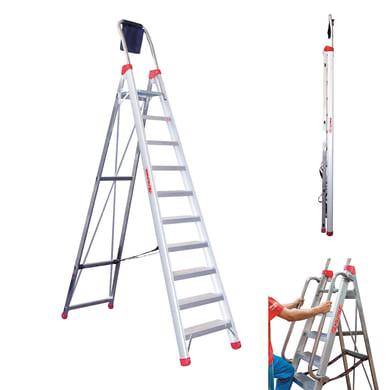 Scala doppia FARAONE in alluminio per lavori fino a 4.03 m