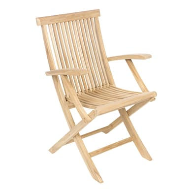 Sedia pieghevole in legno Amalfi colore 81272848