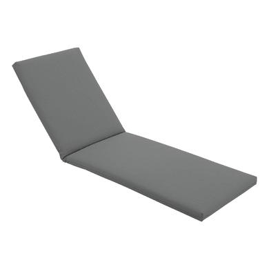 Cuscino per lettino Tech-out antracite 63x6 cm