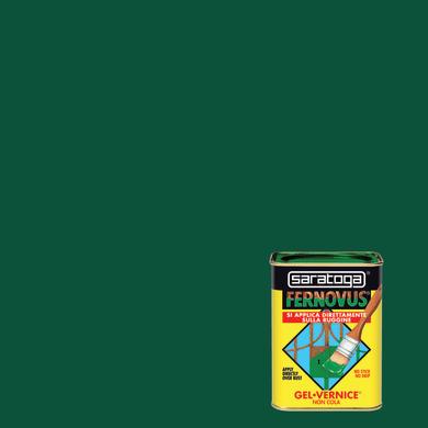 Smalto  antiruggine SARATOGA Fernovus verde prato 0.05 L