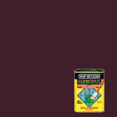 Smalto antiruggine SARATOGA Fernovus castagna 0.05 L