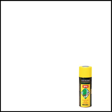 Smalto spray base solvente Fernovus 0.0075 L bianco ghiaccio satinato