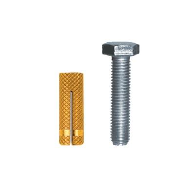 Tassello per materiale pieno FISCHER PO , L 22 mm, Ø 5 mm, 10 pezzi