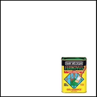 Smalto  antiruggine SARATOGA Fernovus bianco neve 0.05 L