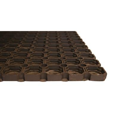 Zerbino Gummy in caucciù nero 50x100 cm