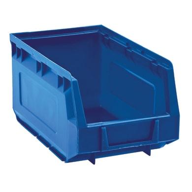 Contenitore per viti con cassetti in plastica blu
