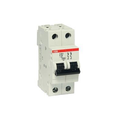 Interruttore magnetotermico ABB ELS202L-C25 2P 25A 4.5kA C 2 moduli 230V