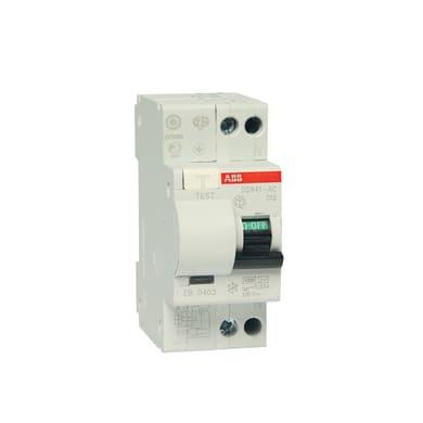 Interruttore magnetotermico differenziale ABB ELDS91LC10AC3 1 polo 10A AC 2 moduli