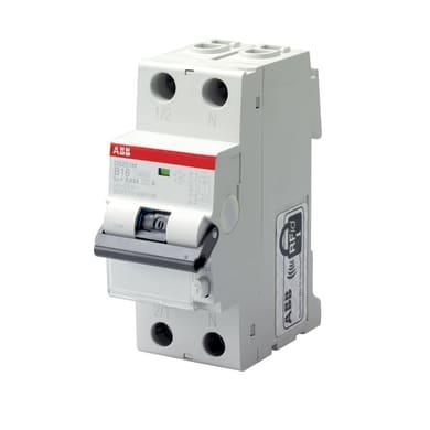 Interruttore magnetotermico differenziale ABB LDS1LC32AC30 1 polo 32A AC 2 moduli 230V