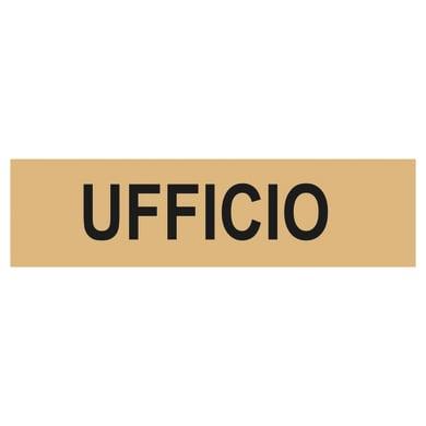 Cartello segnaletico Ufficio plexiglass 15 x 4 cm