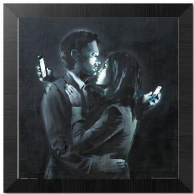 Poster Quadro 30x30 Brandalised Mobile Phone 35x35 cm