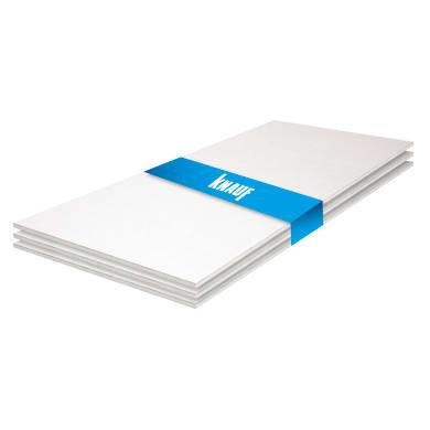 Lastra cartongesso KNAUF 3 pz 120 x 100 cm, Sp 12.5 mm